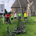 Start-off-selfie-2-St-Helens-cycle-team-RS-2021